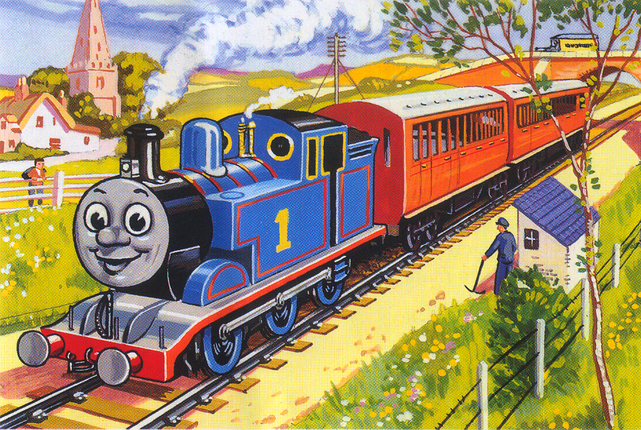 Thomas On His Branch Line