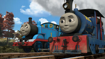 Timothy And The Rainbow Truck Thomas The Tank Engine