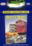 Salty'sSecretDVDwithWoodenOliver