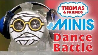 Dance Battle with Thomas & Friends MINIS - Playing around with Thomas and Friends