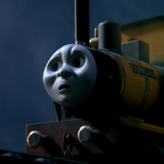 夜光虫の機関車