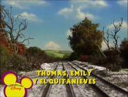Thomas,EmilyandtheSnowploughEuropeanSpanishTitleCard