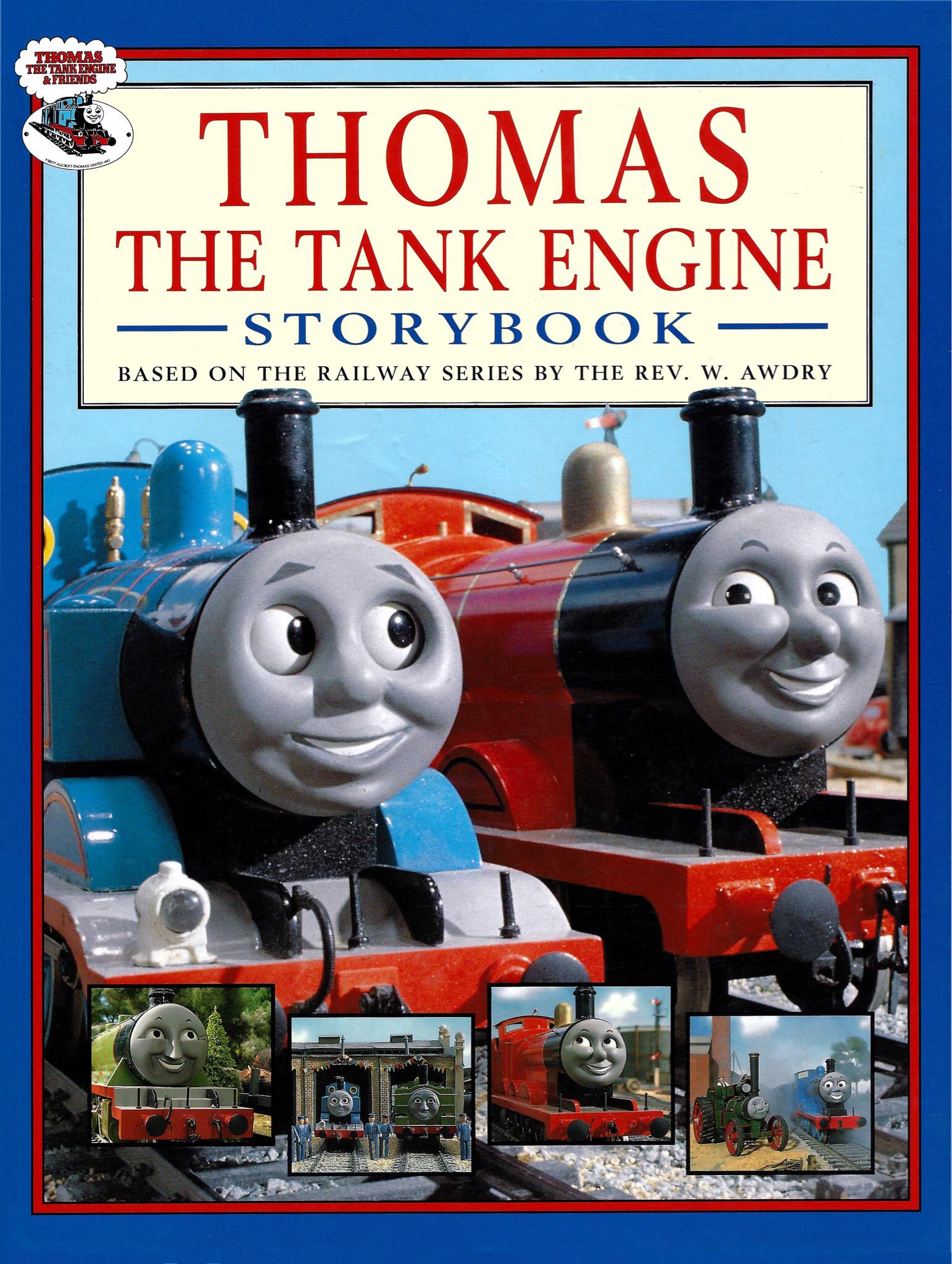 Thomas the Tank Engine Storybook | Thomas the Tank Engine ...