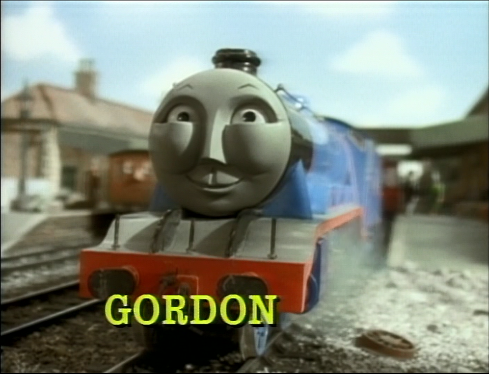 Image Gordon Snamecardtracksidetunes2 Png Thomas The