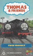Twin Trouble VHS Cover 2