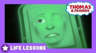 Thomas & Friends Diesel Glows Away Life Lessons Kids Cartoon