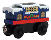 WoodenRailwaySodorLineCabooseHolidayVersion