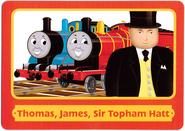 ThomasTradingCardsThomas,James&SirTophamHatt