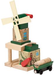 WoodenRailwayWindmill