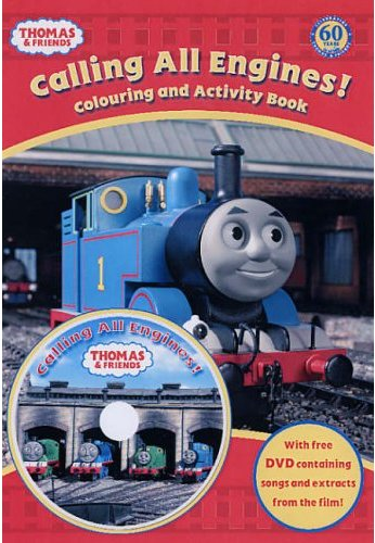 Calling All Engines! Colouring and Activity Book | Thomas the Tank ...