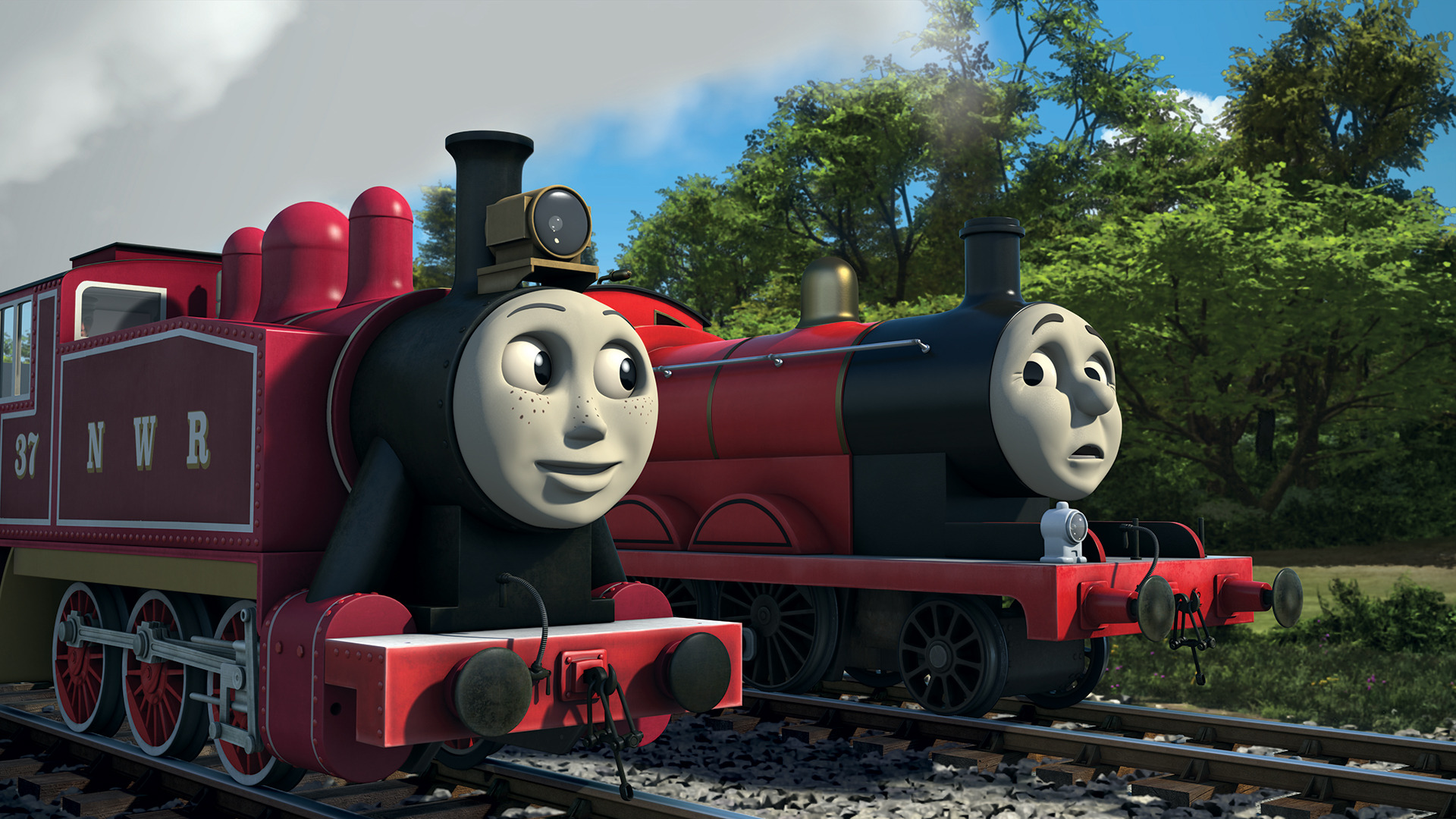 The Fastest Red Engine On Sodor Thomas The Tank Engine