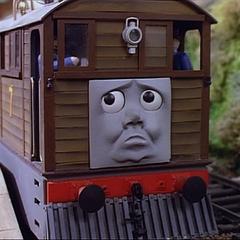 注:眉毛のないトビー