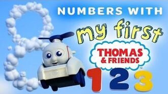 Learn Numbers with My First Thomas Railways - Playing Around with Thomas and Friends