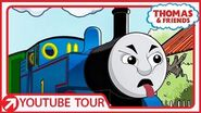 Thomas Makes Scary Faces in New Zealand