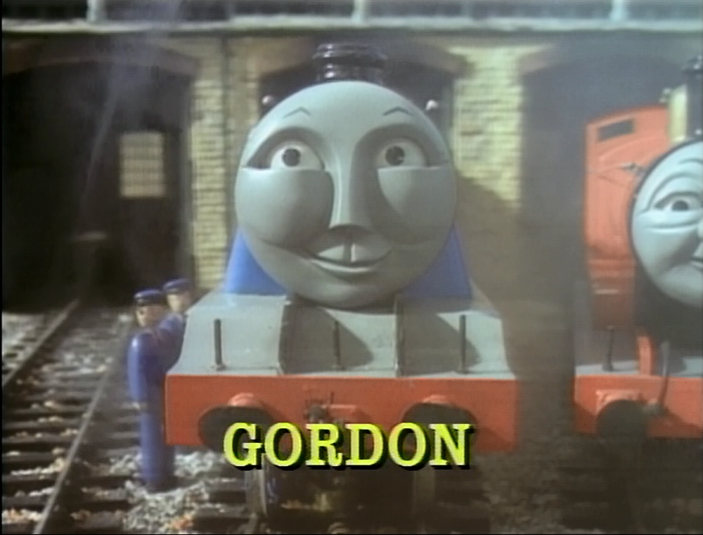 Image Gordon Snamecardtracksidetunes3 Png Thomas The