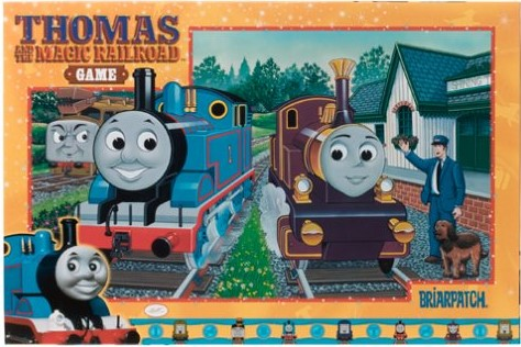 Thomas and the Magic Railroad board