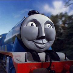 注:列車を引いてないゴードン