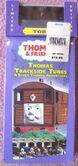 Thomas'TracksideTunesVHSwithWoodenRailwayToby