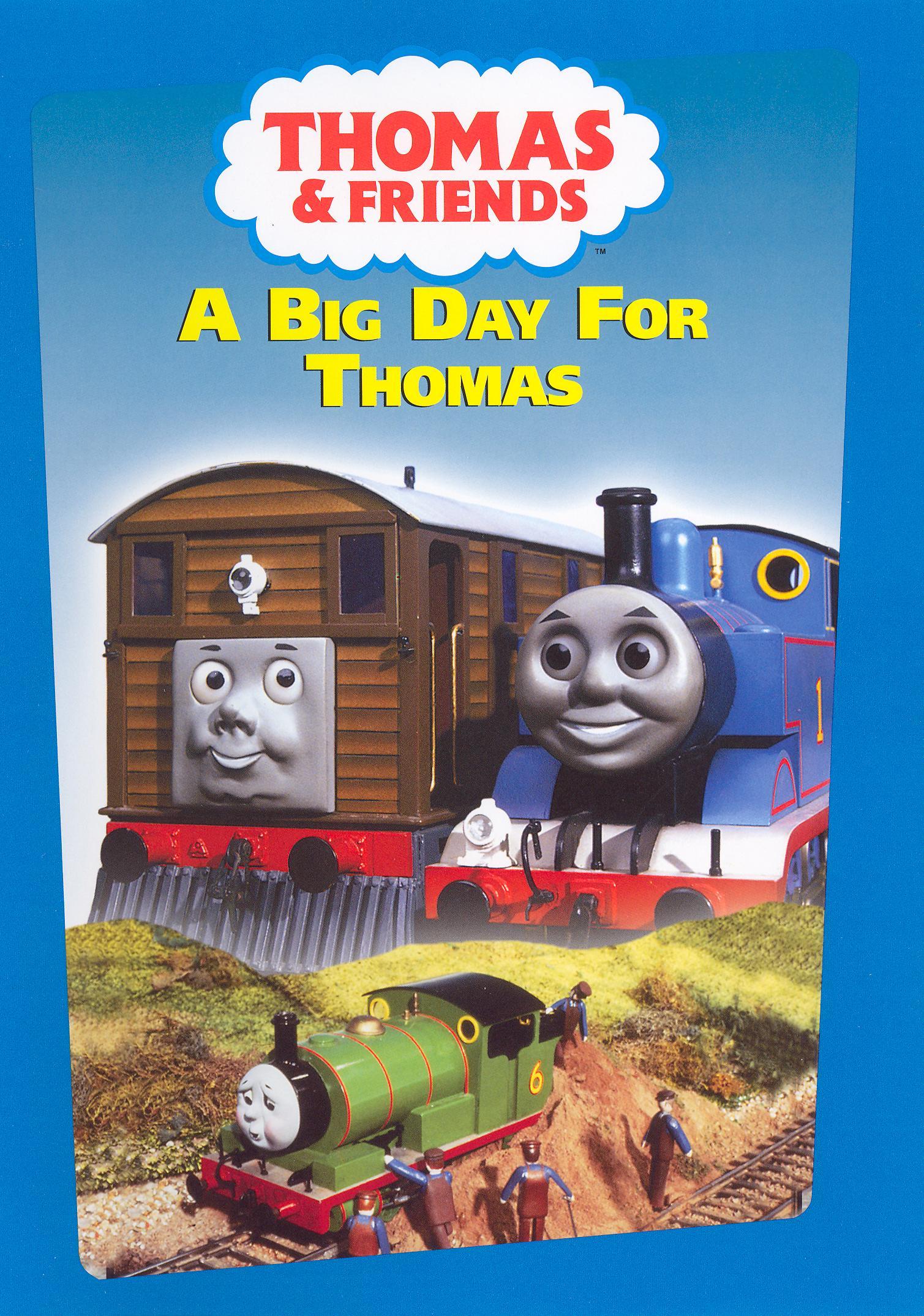 a big day for thomas dvd thomas the tank engine wikia fandom