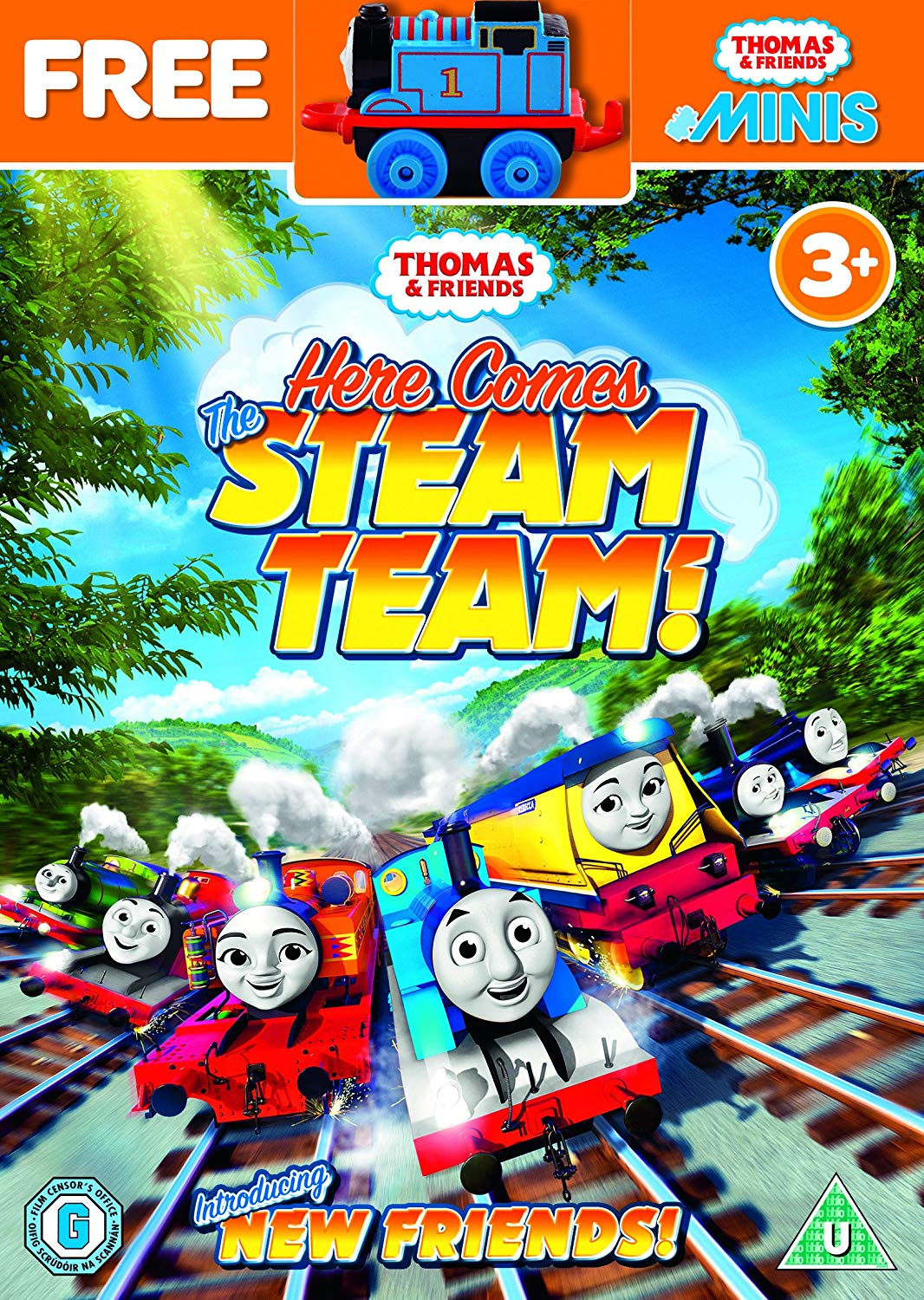 Here Comes the Steam Team | Thomas the Tank Engine Wikia | FANDOM powered by Wikia