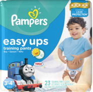 PampersEasyUpsThomasTrainingPants3T-4T
