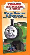 Races,RescuesandRunawaysandOtherThomasAdventures1999VHScover
