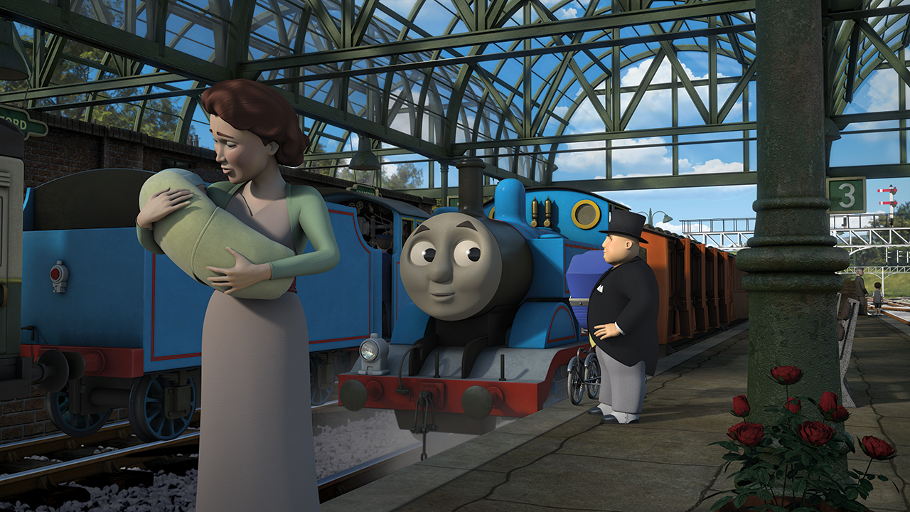 Thomas The Babysitter Thomas The Tank Engine Wikia Fandom