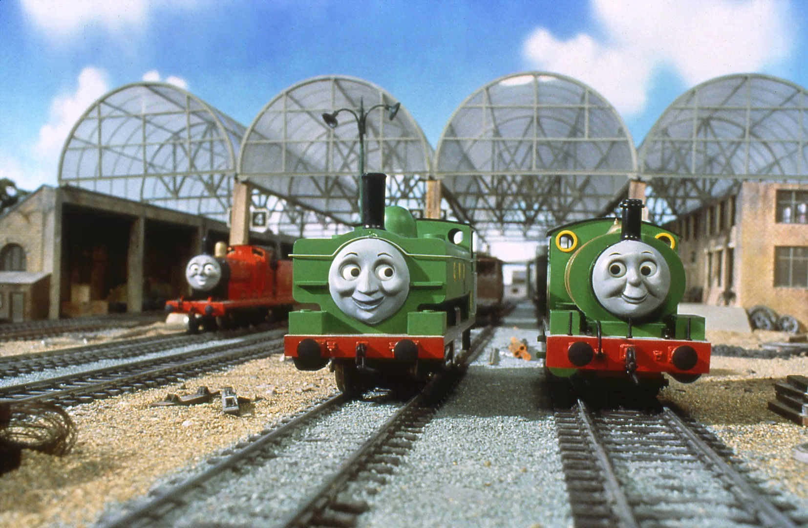image ducktakescharge3jpg thomas the tank engine