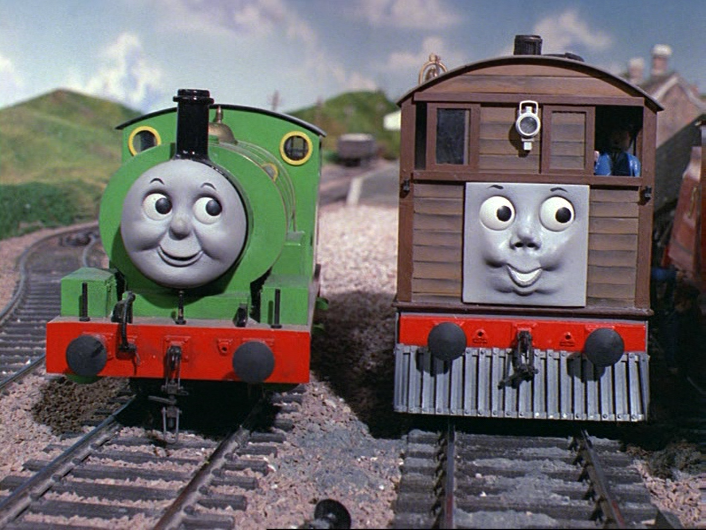 d1b51fc2a8e The Fat Controller orders the passengers to pull Henry out with a rope
