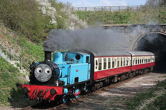 """File:TheNeneValleyRailway's""""Thomas"""".jpg"""