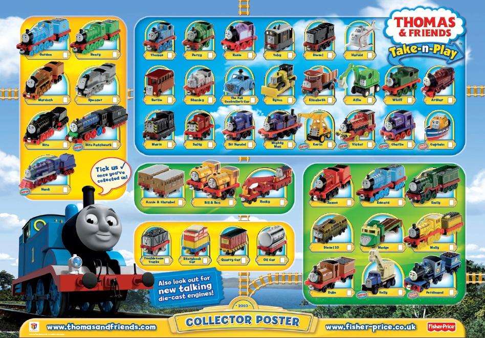 Thomas Train Poster