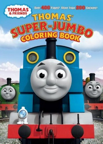 Thomas\' Super-Jumbo Coloring Book | Thomas the Tank Engine Wikia ...