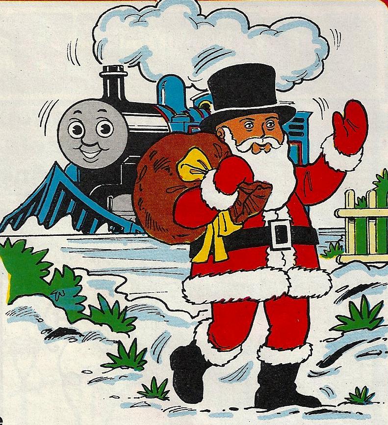 Thomas The Train Christmas.A Special Christmas Santa Thomas The Tank Engine Wikia