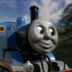 注:列車を牽いていないトーマス