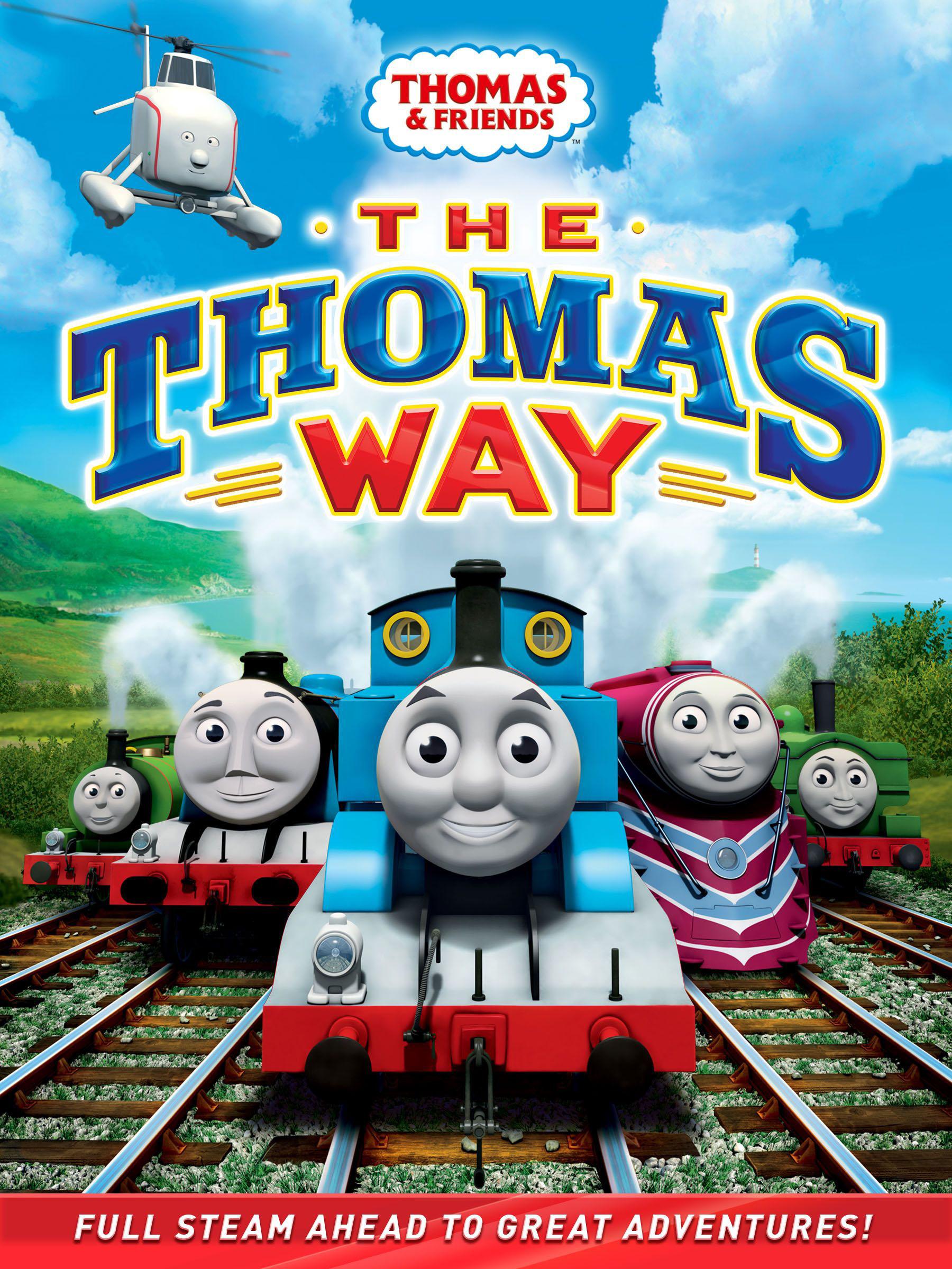 the thomas way dvd thomas the tank engine wikia fandom powered