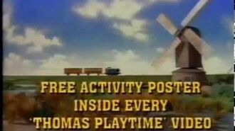 Playtime Australian VHS Advertisement