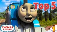 Thomas & Friends UK™ Top 5 Cheeky Thomas Moments! Best of Thomas Highlights Kids Cartoon