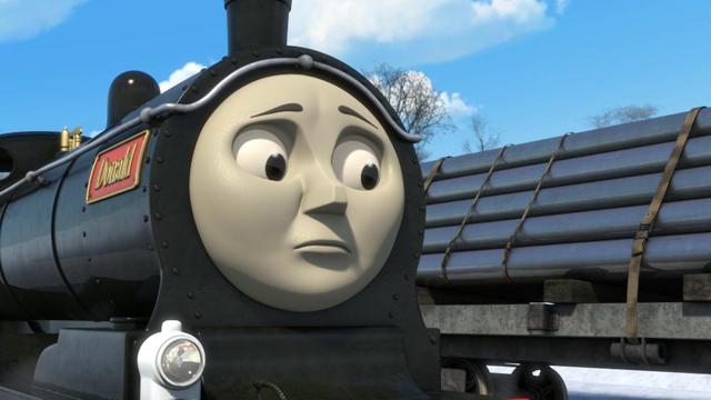 TV版第21シーズンのエミリーの機関士