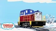 Ivan's Chilly Way Home Great Race Friends Near and Far Thomas & Friends