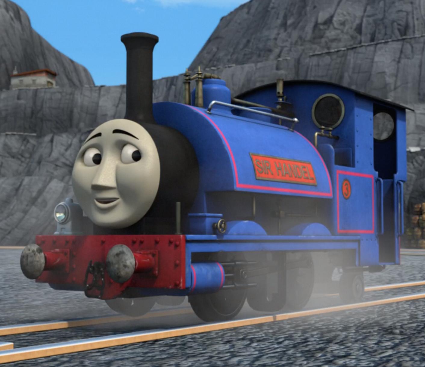Sir Handel Thomas The Tank Engine Wikia Fandom Powered