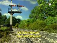 GordonTakesAShortcutGermanTitleCard