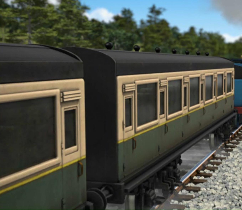 Green Express Coaches Thomas The Tank Engine Wikia Fandom