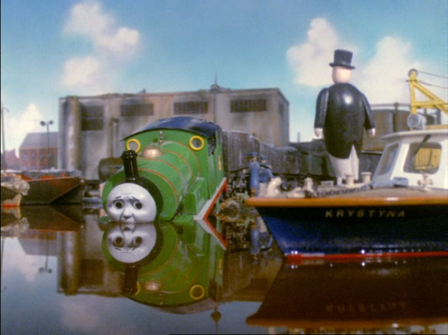 Percy Takes The Plunge Thomas The Tank Engine Wikia Fandom