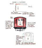 Annie and Clarabel CGI Face Sketch Design