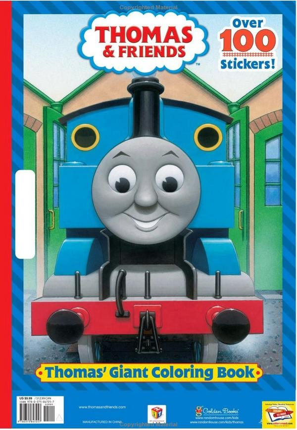 Thomas giant coloring book