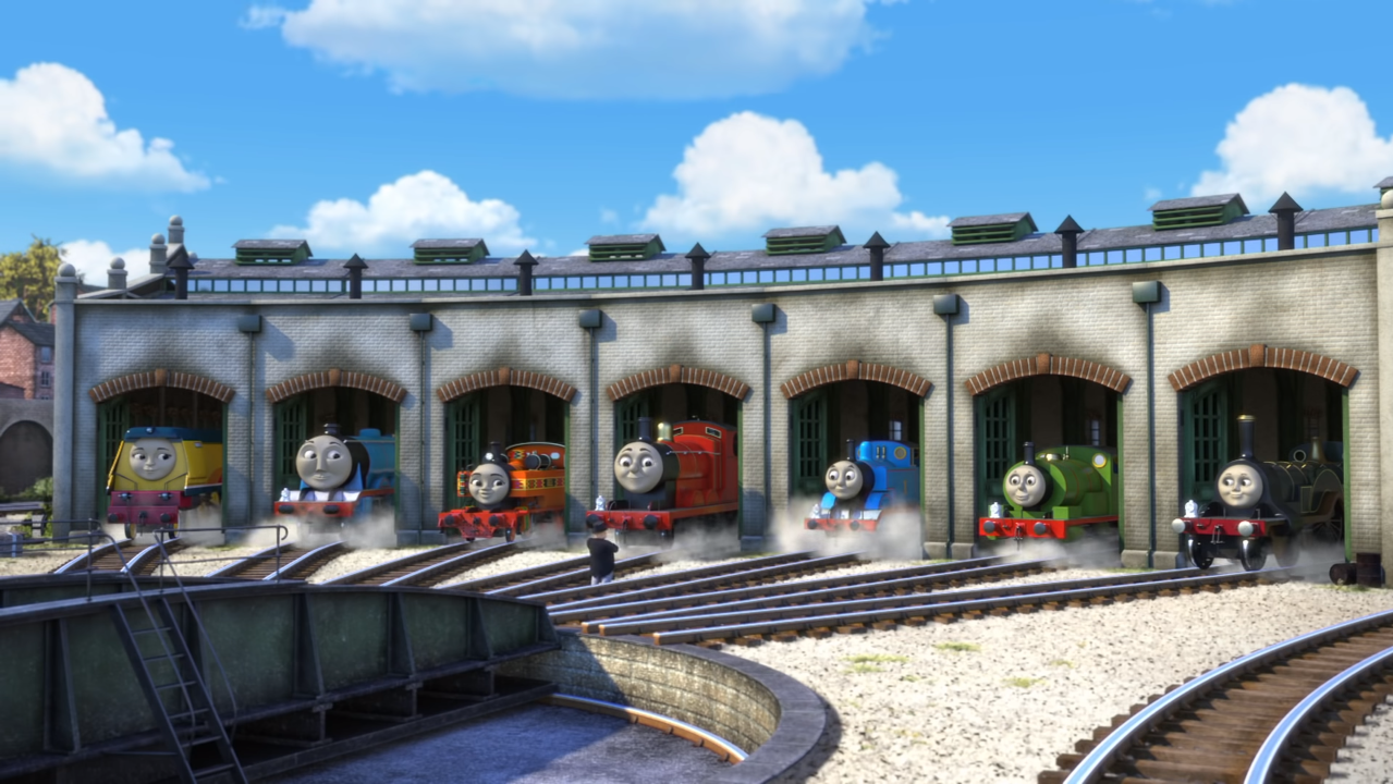 Tidmouth Sheds Thomas The Tank Engine Wikia Fandom