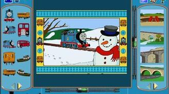 Thomas & the Magic Railroad Print Studio - FULL GAMEPLAY (2000)