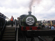 Percy and Diesel at National Railway Museum