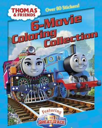 Full Page Thomas The Train S8e02 Coloring Pages Printable | 450x360