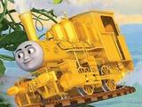Golden Steam Engine